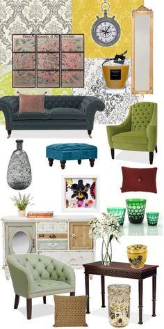 Barock Vintage Style üppig! Entdecke Vintage Interior Styles Und Passende  Color Schemes, Möbel Und
