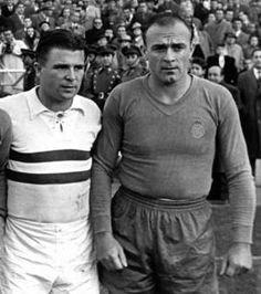 Alfredo Di Stefano et Ferenc Puskas
