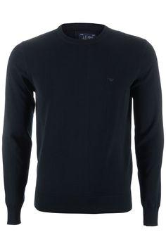 Deze mooie sweater is van het bekende merk Armani Jeans en komt uit de nieuwe collectie. Dit item is gemaakt van een stevige, zachte stof en heeft de merk initialen op de voorzijde.