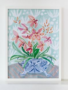 FLOWERS FOR LAURA - PRINT