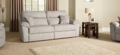 Johan 3 Seater Static Sofa