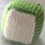 Cubic - little knitted cube!