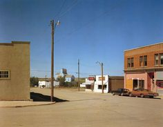 Stephen Shore (American, b. Main Street, Gull Lake, Saskatchewan, August 1974 ©Stephen Shore/Courtesy of Edwynn Houk Gallery Stephen Shore, Photography Gallery, Color Photography, Street Photography, Landscape Photography, Film Photography, William Eggleston, Albertina Wien, Marc Riboud