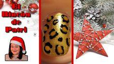 Diseño de uñas de leopardo para Nochevieja de El rincón de Patri Nail Art. Sigue todos nuestros diseños de decoración de uñas en http://www.rincondepatri.com Party Animal Print Nail Art