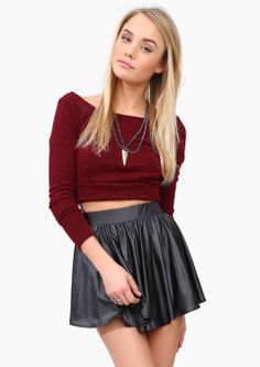 Abe Cropped Sweater