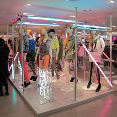 Prop Studios for H&M | Geometric Campaign Windows & In-store VM | #HM…