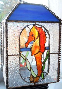 Seahorse Bird Feeder - by Marsha