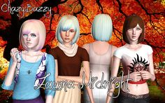 Zauma Midnight  All Ages Female only Custom Thumbs Pooklet's Texture and a Blend of Reis' and Anubis' Control Sjoko's Conversion for the younger ages  Download               Mirror