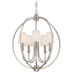 You'll love the Barnaby 5 Light Shaded Chandelier at Birch Lane - With Great Deals on all products and Free Shipping on most stuff, even the big stuff.