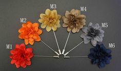 Handmade Daisy Flower Lapel Pin