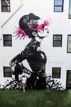 News la nouvelle peinture murale de Fin DAC -