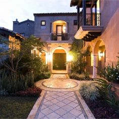 Mediterranean Entry Front Steps Design, Pictures, Remodel, Decor and Ideas - page 44