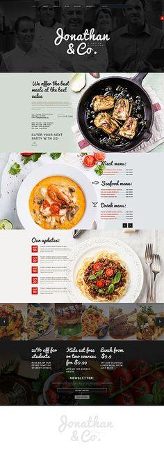 European Cuisine Restaurant Site