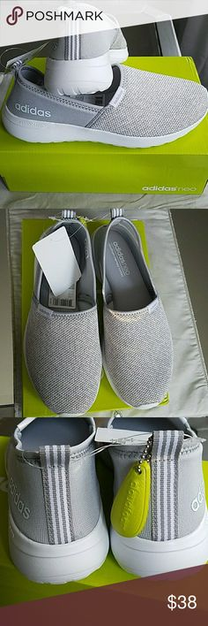 Adidas Neo Cloudfoam Racer Slipon Shoes Adidas Neo Cloudfoam Racer Slipon Shoes  New in box  True to size  Memory foam footbed  Price Firm  NO TRADES adidas Shoes