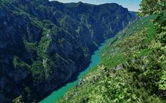 The Tara River Canyon also known as the Tara River Gorge, is the longest canyon in Montenegro. It is 82 kilometers (51 miles) long and is 1,300 meters (4,300 feet) at its deepest, making it the deepest river canyon in Europe. The canyon is protected as a part of Durmitor National Park and is a tentative UNESCO World Heritage Site. #balkan #nature #adventure #outdoor #lobagolabnb