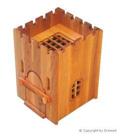 Amazon.de:931 1100 Gefängnis für Drewart Ritterburg aus Holz, ökologisches Holzspielzeug