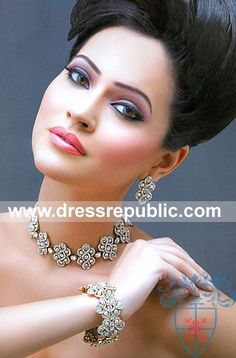 Style DRJ1364, Product code: DRJ1364, by www.dressrepublic.com - Keywords: Pakistani Jewellers in London, Manchester, Birmingham, Leeds, Pakistani Jewellery UK