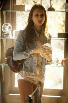 What's your favorite way to style a denim jacket? Tell us in the comments below! #PLL