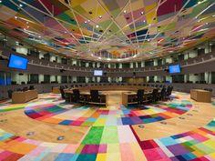 Europa : un siège haut en couleur pour les dirigeants européens