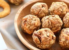 Whip up these protein-packed energy bites for healthy snacks that will keep you full and help you lose weight.