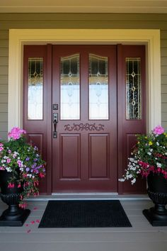 Stunning Front Doors - traditional - entry - vancouver - Warline Painting Ltd.