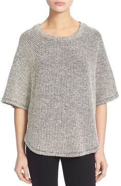 Soft Joie 'Ulla' Cotton Terry Swing Top available at #Nordstrom