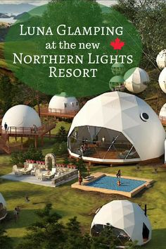Go Glamping with the family in the heart of the Boreal Forest at the new Luna Glamping – Canadian Big Horn Resort. Opening in early 2018 the Canadian Big Horn Resort is located in he regional municipality of Bonnyville, Alberta. Vacation Places, Vacation Destinations, Dream Vacations, Places To Travel, Travel Local, Family Vacations, Usa Travel, Family Travel, Northern Lights Canada