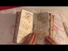 Autumn themed Travelers notebook insert Guest DT for Ephemoire - YouTube