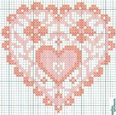 .Joli coeur rose