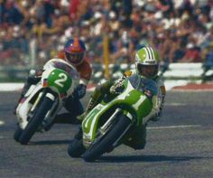 1980, Kork Ballington won the 250cc race at the @PaulRicardTrack after a close fight with Anton Mang.