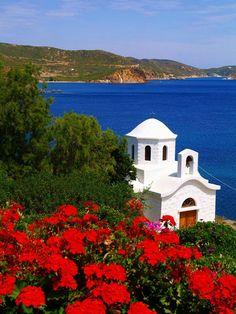 Patmos the islandof the Apocalypse, Greece Beautiful Islands, Beautiful Places, Greece Fashion, History Of Photography, Medieval Town, Santorini Greece, Island Beach, Ancient Greece, Greece Travel
