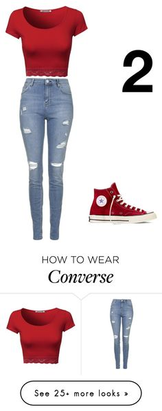 """""""concert2"""" by uvadi on Polyvore featuring Topshop and Converse"""