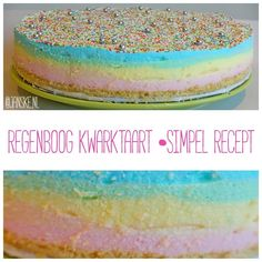Blog post at Janske.nl : Wil jij ook graag een kleurrijke regenboogtaart maken voor een feestje en moet het niet allemaal super veel werk en moeilijk zijn? Dan is d[..]