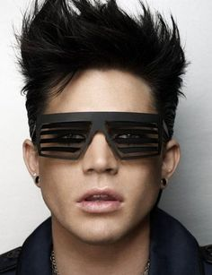 Adam Lambert, you look like you are just about to sneeze.