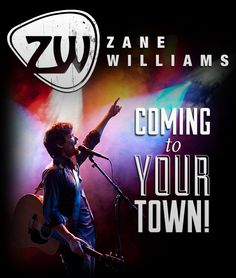 Zane is coming to your town!