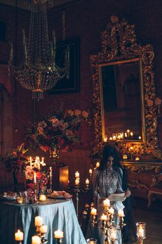 // EDITORIAL: Gothic Wedding Inspiration | http://www.tastino0.it/editorial-gothic-wedding-inspiration/