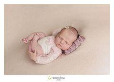 Pink Romper Lace Romper Baby Picture Prop Newborn Newborn