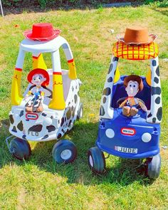 Diy Outdoor Toys, Outdoor Toys For Kids, Fun Outdoor Games, Diy For Kids, Toy Story Baby, Toy Story Theme, Toy Story Birthday, Little Tykes Car, Fisher Price