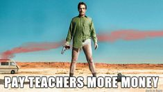 """Is this going to be the moral of the story? 