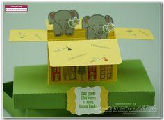 Sigrids kreative ART ❁ Stampin' Up! Ideenblog für Münster und Umgebung: Willkommen kleiner Schatz! #kaybescrapsdesign #baby #verpackung
