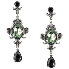 Alchemy Gothic Queen of the Night Earrings