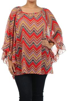 Red Printed Flowy Sleeve Top 1x, 2x, 3x. $48.00. Blondellamy'Dean is a boutique just for Curvy Girls. Sizes 10-36. Daily New Arrivals. Get special savings and daily inventory updates when you create an account on www.blondellamydean.com  #top #red #flowy #1x #2x #3x #4x #5x #6x #american #european #curvy #clothes #plus #blondellamydean #fashion #style #stylish #cute #beauty #beautiful #pretty #girly #girl #girls #skirt #styles #outfit #shopping