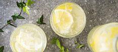 Sitruunalimonadi eli lemonade | Juomat | Reseptit – K-Ruoka Honeydew, Lemonade, Camembert Cheese, Dairy, Food And Drink, Sweets, Fruit, Drinks, Drinking
