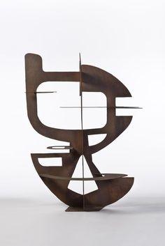 Berto Lardera (1911-1989) Sculpture, 1952 Sculpture en tôle de fer découpée et…