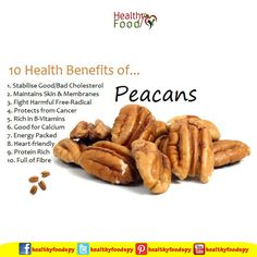 The health benefits of pecans eating healthy & living fit ea Healthy Tips, Healthy Choices, Healthy Snacks, Healthy Recipes, Eating Healthy, Fruit Benefits, Health Benefits, Health And Nutrition, Health And Wellness