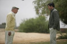 Ian McKellen and Jim Caviezel in The Prisoner (2009)