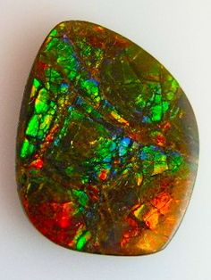 An amazing fire agate!