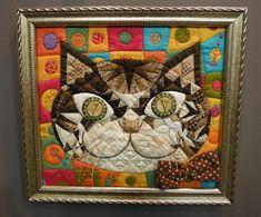 patchwork cat Tokyo quilt festival 2013
