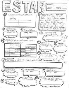 spanish verb ser poster doctor ser conjugation bulletin board worksheet verb spanish. Black Bedroom Furniture Sets. Home Design Ideas