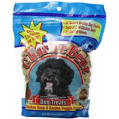 Charlee Bear Chicken Soup & Garden Veggie Dog Treats 16 oz. bag ~~ You can see this great product. (This is an affiliate link and I receive a commission for the sales)
